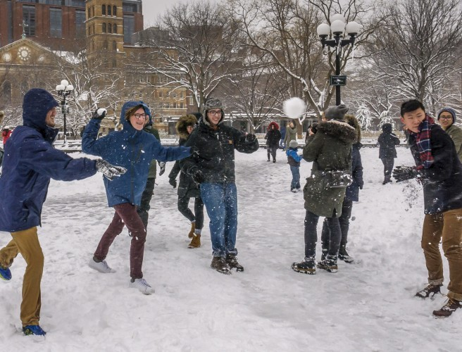 Massive Northside/Southside Snowball Fight Planned For Tomorrow