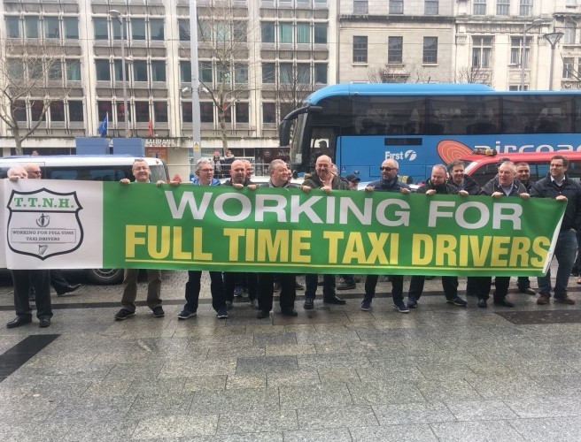 """We'll Go On Strike"" - Dublin Taxi Drivers Threats On Dublin Talks"