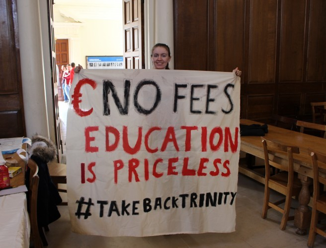 Trinity Students End Sit In Over Repeat Exam Fees