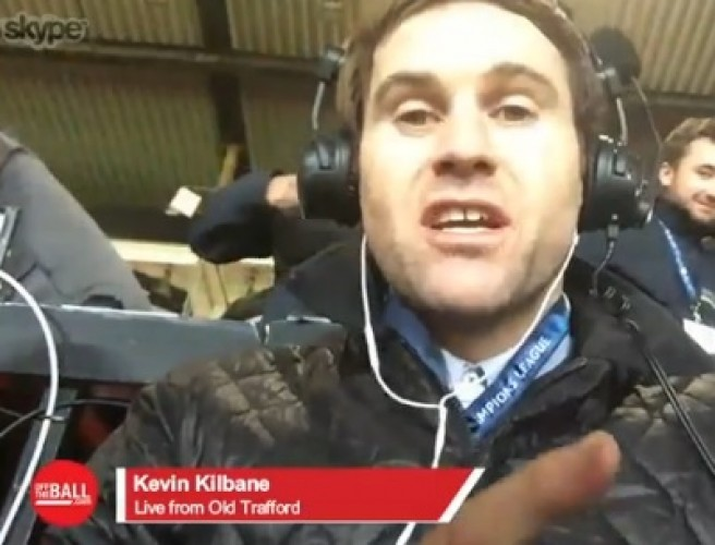 "Kevin Kilbane on Man United: ""I certainly lay the blame totally on Jose Mourinho for tonight"""
