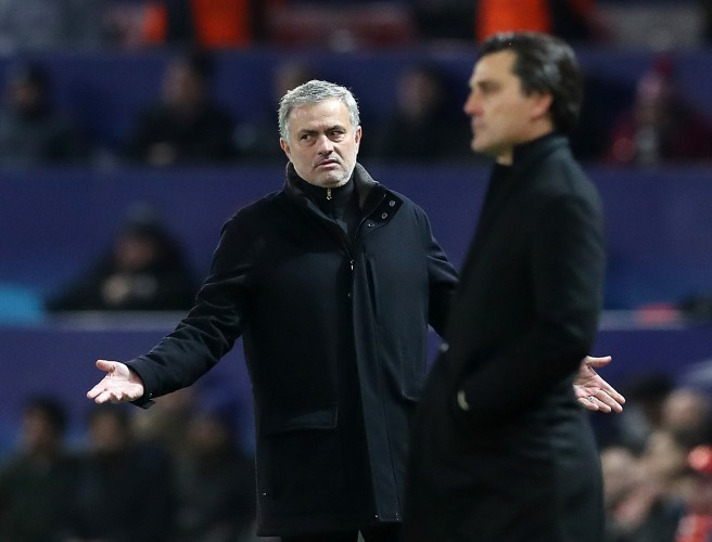 Jose Mourinho says he is not to blame for Manchester United's Champions League elimination