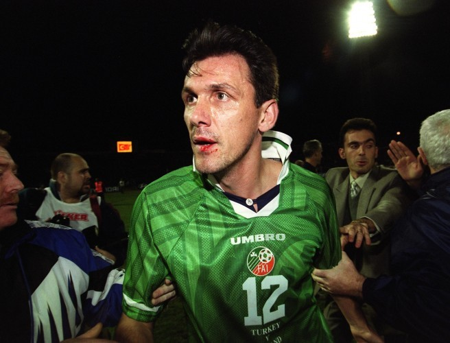 Tony Cascarino, Ireland, Turkey, 1999