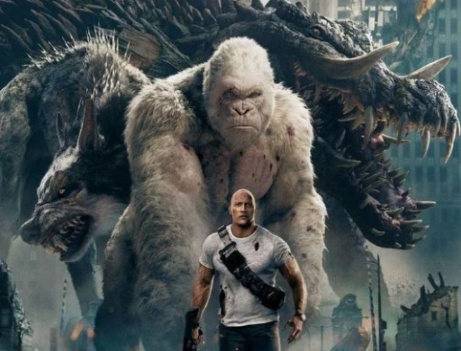 Rampage Is Released In Cinemas Today