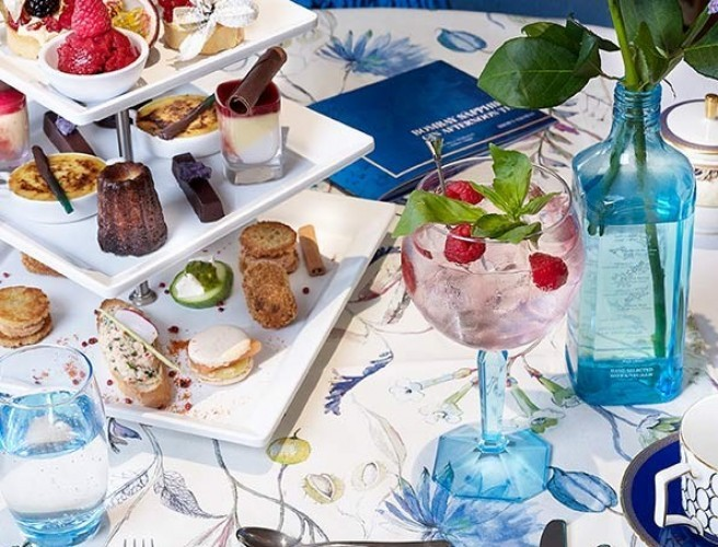 Gin Afternoon Tea Is Coming To Brown Thomas