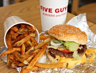 New Five Guys On Georges Street Are Hiring