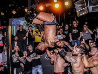This is OTT: Irish Wrestling's renaissance has begun in Dublin