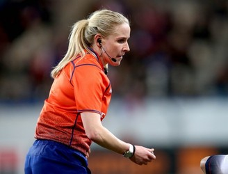 Joy Neville, referee