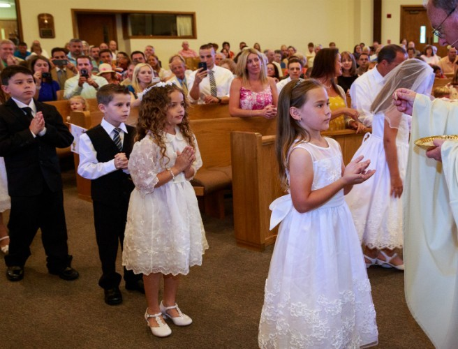 "Comments Made About Child's Holy Communion Are Branded ""Vile"""