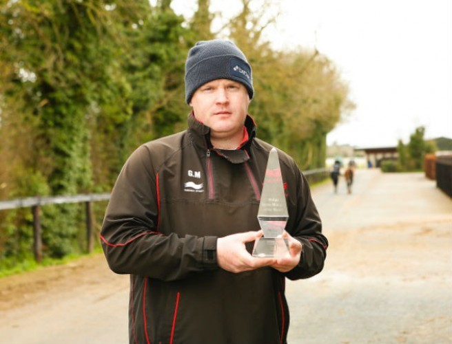 Gordon Elliott wins Philips Lighting Sports Manager of the Month