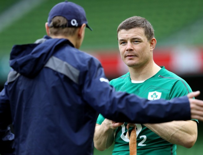 "Brian O'Driscoll: ""Joe Schmidt has to be pulling his hair out"""