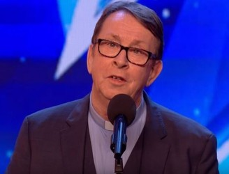 Irish Priest Auditions For Britain's Got Talent