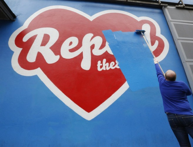 Arts Centre Ordered To Paint Over Repeal Mural