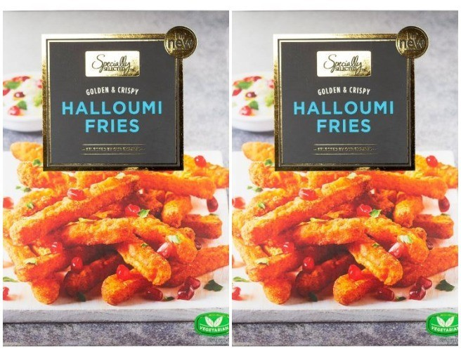 Aldi Launches Halloumi Fries