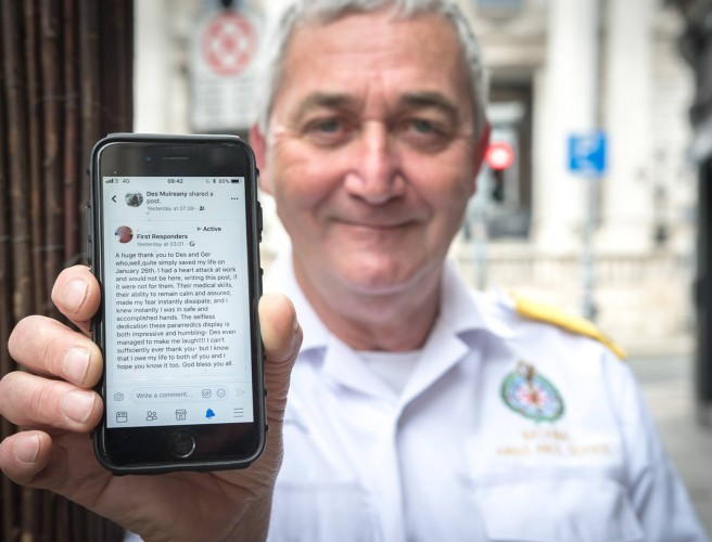 Dublin Paramedic Explains Why He Loves His Job In Emotional Facebook Post