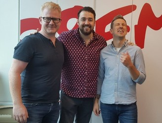 Jason Manford On 98FM's Big Breakfast