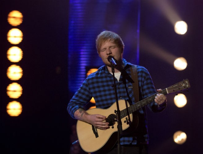Check Out Ed Sheeran's Stage For His Dublin Gigs