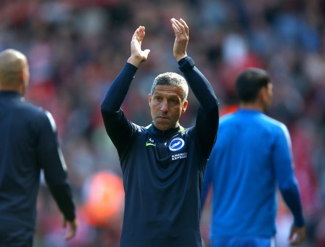 Chris Hughton rewarded with a new deal after keeping Brighton in Premier League