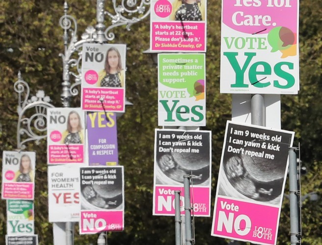 Latest Eighth Amendment Poll Shows Continued But Reduced Lead For 'Yes'
