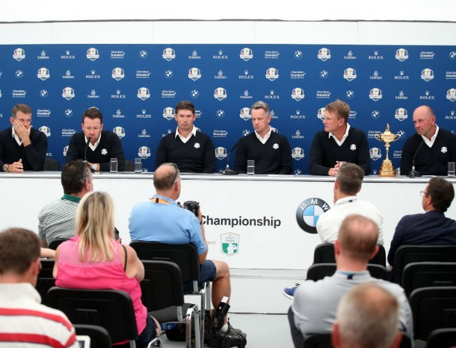 Irish duo selected as Ryder Cup vice-captains by Thomas Bjorn