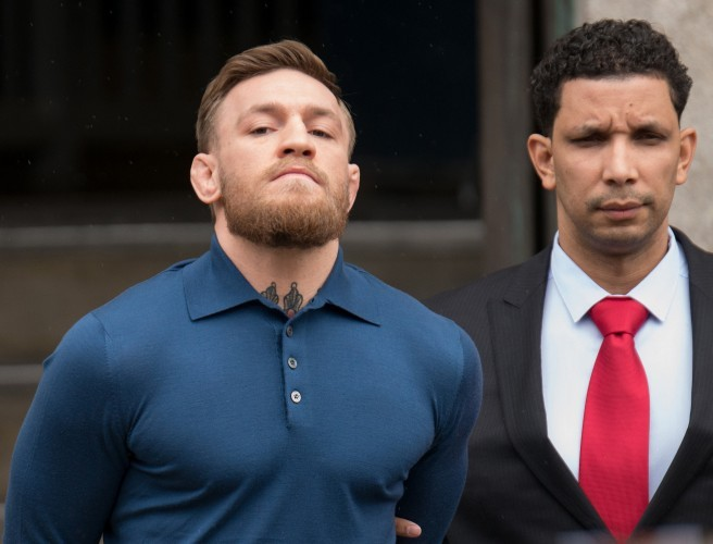 Conor McGregor's Appeared In Court In New York