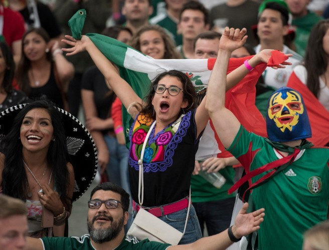 Mexico's World Cup celebrations shook the world