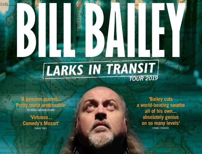 Bill Bailey Announces 3Arena Date