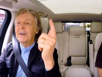Watch Paul McCartney's Carpool Karaoke