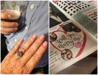 Woman Finds Marriage Proposal In Dublin Paper