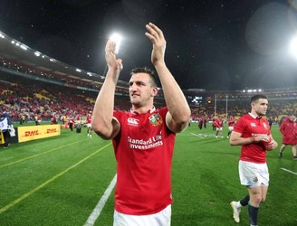 The end, like it often is, was swift and brutal for Sam Warburton