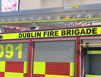 Fire At The Bottom Of The Hill Pub In Finglas