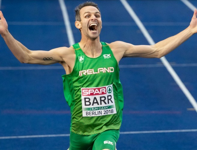 What a moment for Thomas Barr!!!