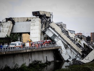 At Least 35 Dead Following Bridge Collapse In Italy
