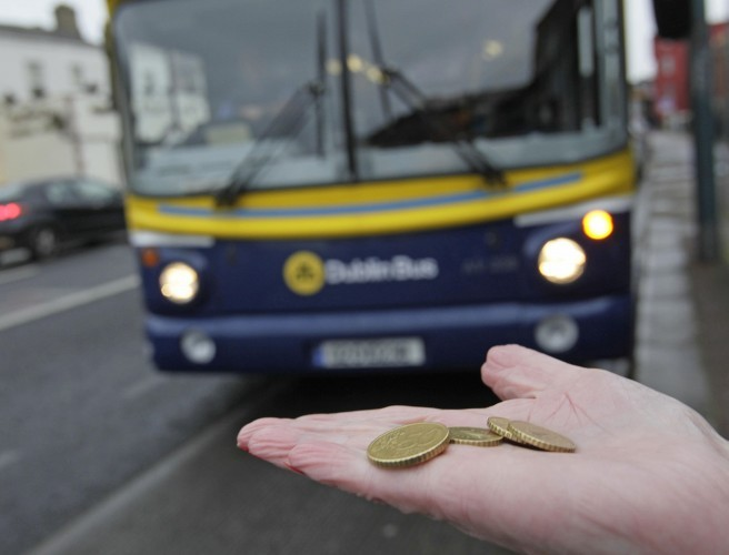 Some up, some down as Dublin Bus fares change today
