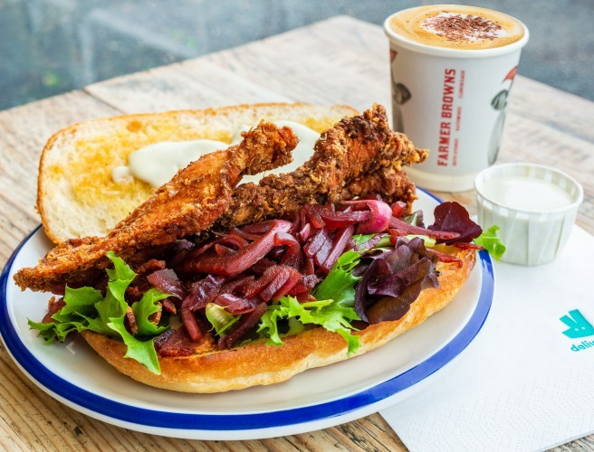 You Can Now Order Hot Chicken Rolls On Deliveroo