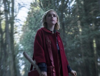 First Look At Hilda, Zelda & Harvey In Netflix's Sabrina Reboot