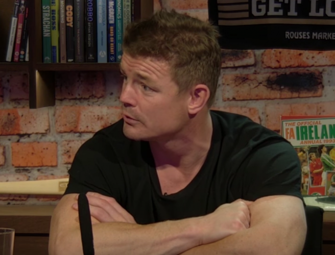 Brian O'Driscoll's reaction to Cian Healy remarks about Muldoon conversion