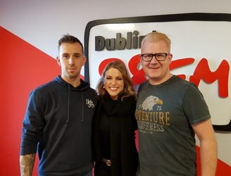 Amy Huberman Brings Joy To 98FM's Big Breakfast
