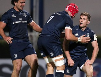 Leinster, Luke McGrath, James Lowe, Josh van der Flier