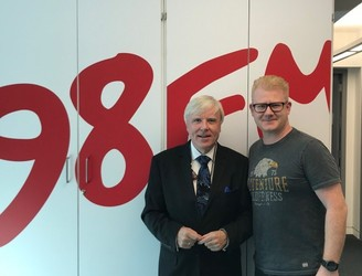 Francis Brennan Chats To 98FM's Big Breakfast