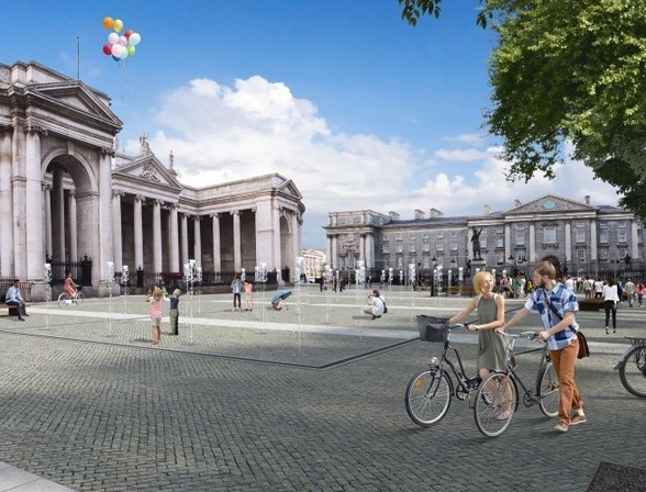 College Green Pedestrian Plaza Plan Rejected