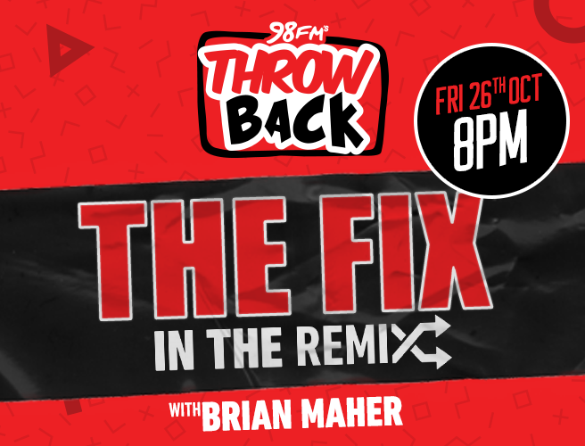 Catch A Special Show With Brian Maher This Friday On 98FM Throwback