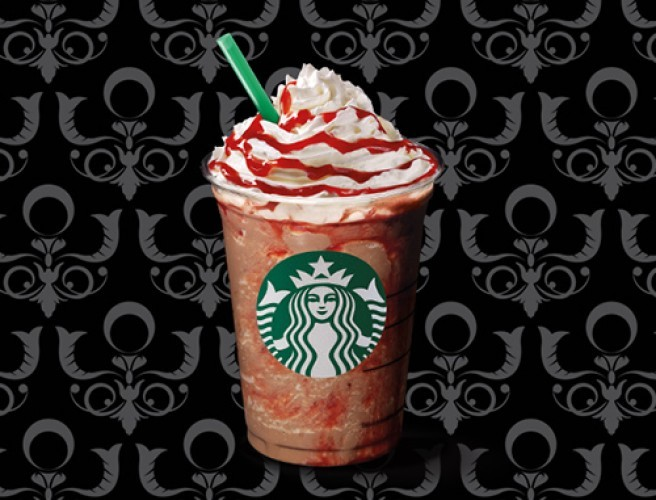 Starbucks Have A New Halloween Themed Frappuccino