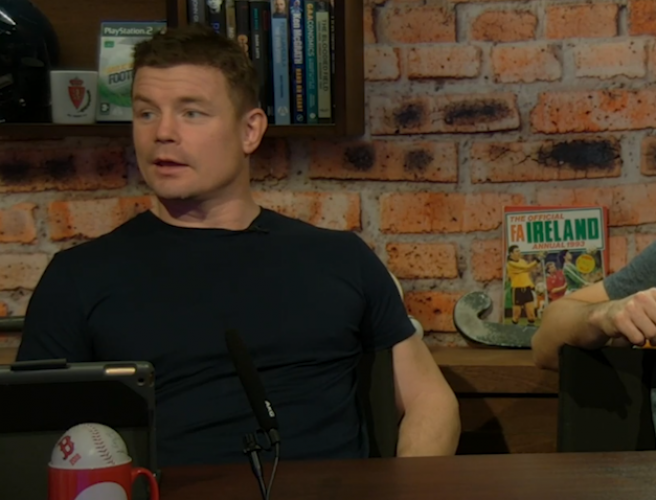 """I think he's going to stay"" - Brian O'Driscoll on Joe Schmidt's future"
