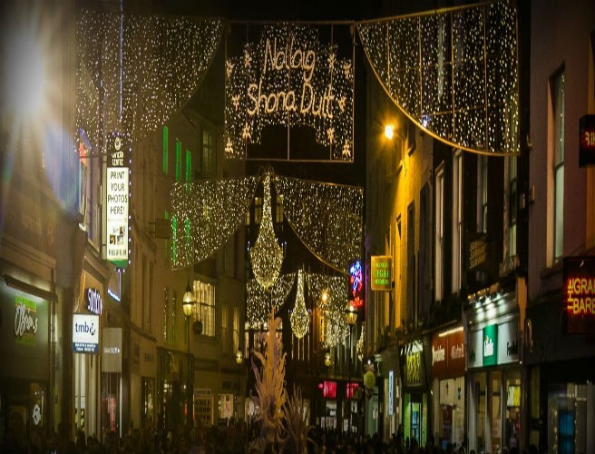 Dubliners Outraged Over Dublin City Christmas Lights