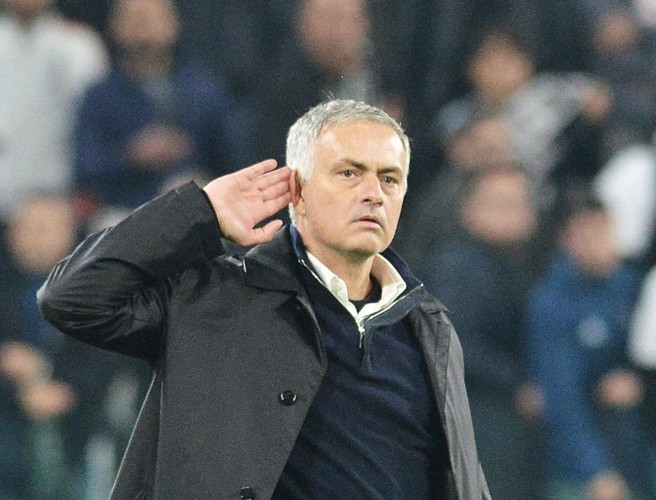 "John Giles' bemused reaction to Mourinho's ""childish"" celebration at Juventus"