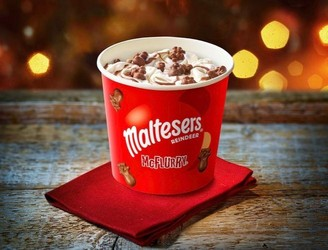 Maltesers Reindeer McFlurry Launching In Ireland Next Week