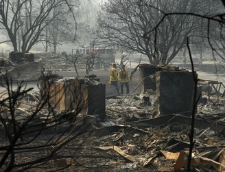 Death Toll From California Wildfires Rises To 71