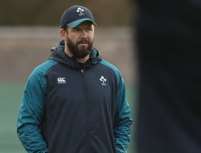 WATCH: Is Andy Farrell the right man to replace Joe Schmidt?