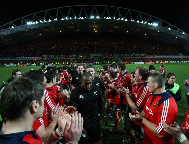 'They were probably pleased to be the only Munster team to have done it.' - English on Munster-All Blacks