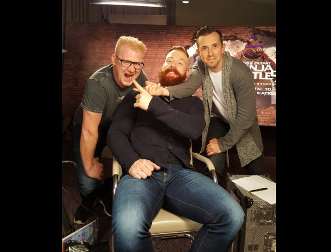 98FM's Cooper & Luke Chat To WWE And TNMT2 Star Sheamus